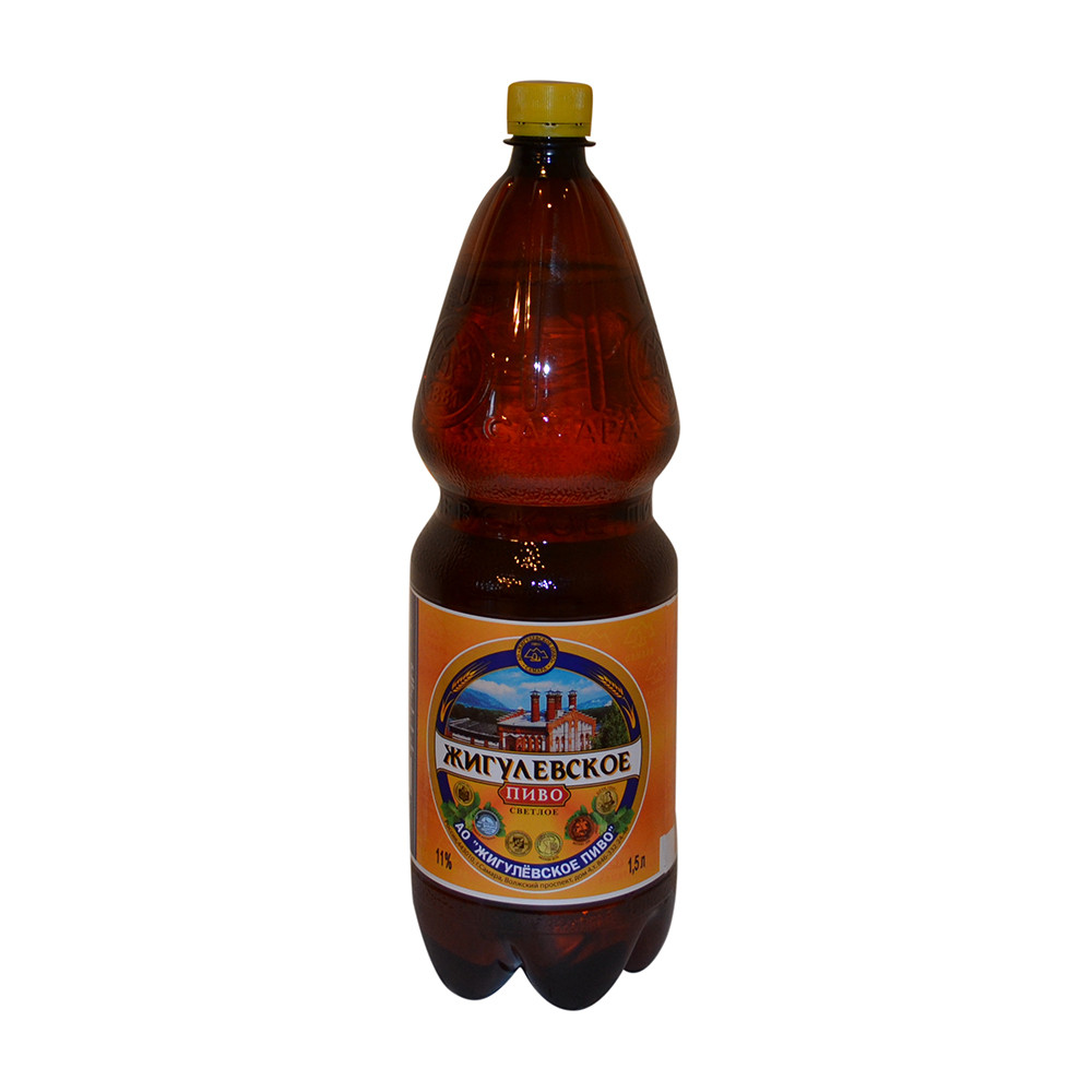 Пиво «Жигулевское» ПЭТ 1.5л