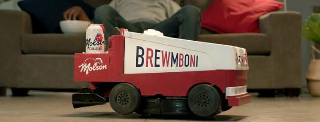 Канадская пивоварня Molson выпустит робот-пылесос, который привозит пиво