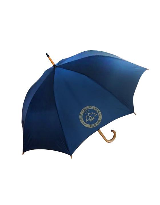 Зонт-трость с логотипом