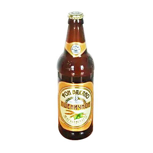 Пиво «Фон Вакано — пшеничное» 0,5л